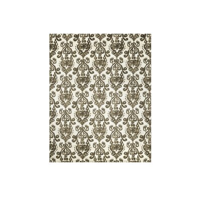 Moxley Beige/Brown Area Rug Rug Size: Rectangle 5 x 8