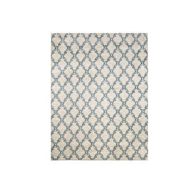 Mcdavid Light Gray/Blue Area Rug Rug Size: Rectangle 5 x 8