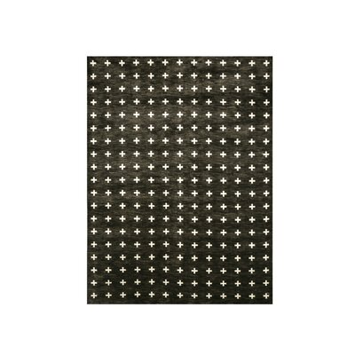 Willson Black Area Rug Rug Size: Rectangle 8 x 10
