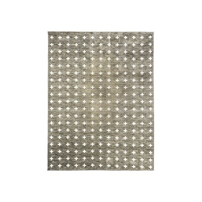 Willson Gray Area Rug Rug Size: Rectangle 8 x 10