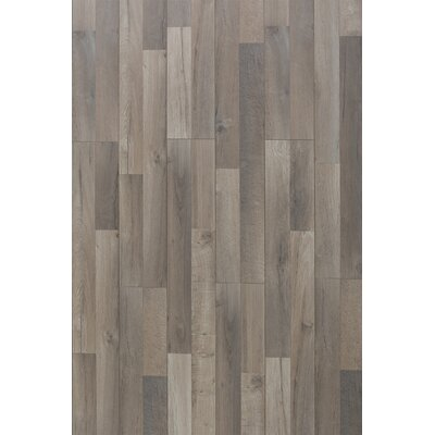 Elegant 12 x 48 x 8mm Oak Laminate Flooring in Great Wall