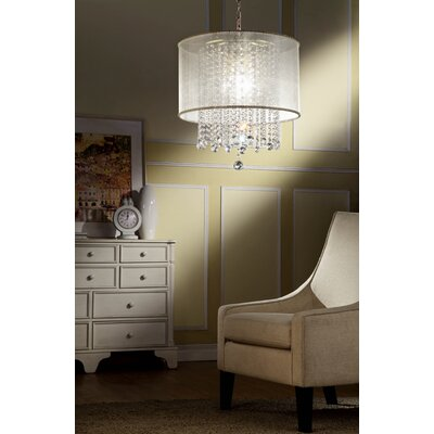 Torrington Glam Drum Chandelier