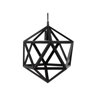 Paille Modern 1-Light Geometric Pendant