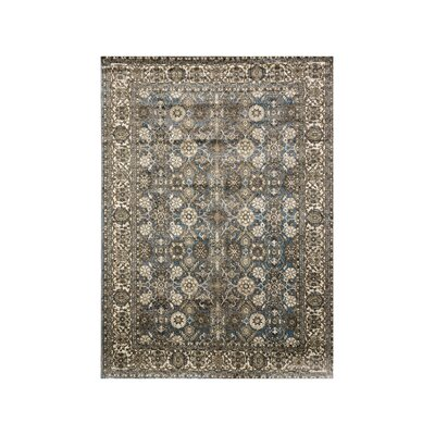 Jefcoat Beige/Blue Area Rug Rug Size: Rectangle 7.8 x 10
