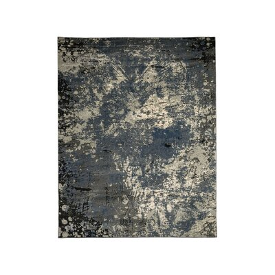 Wightman Gray Area Rug Rug Size: Rectangle 5 x 10