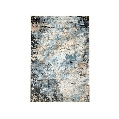 Wigington Gray Area Rug Rug Size: Rectangle 5 x 10