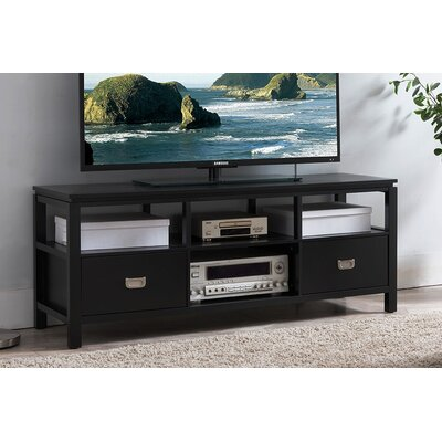 Bordonaro 54 TV Stand Color: Black