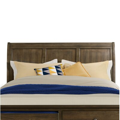 Wroten Sleigh Headboard Size: King