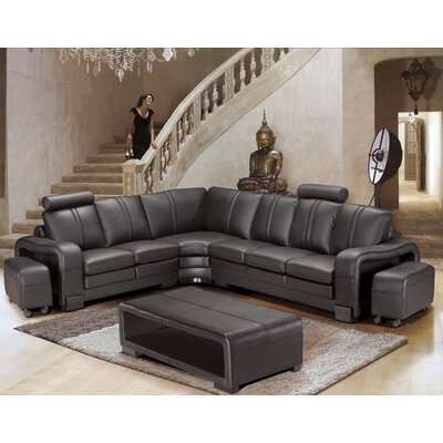 Wamblee Sectional with Ottoman