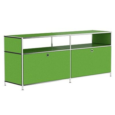 Mapes 59 TV Stand Color: Yellow Green