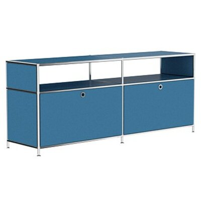 Mapes 59 TV Stand Color: Brilliant Blue