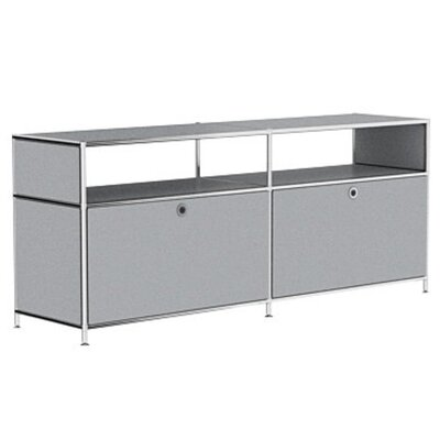 Mapes 59 TV Stand Color: Silver