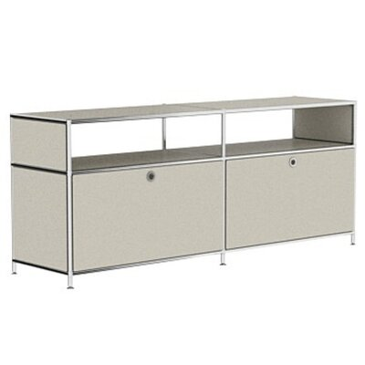 Mapes 59 TV Stand Color: Silk Gray