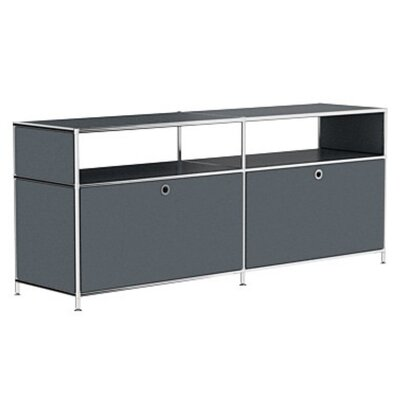 Mapes 59 TV Stand Color: Anthracite