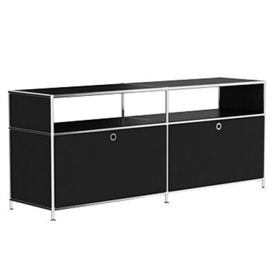 Mapes 59 TV Stand Color: Black
