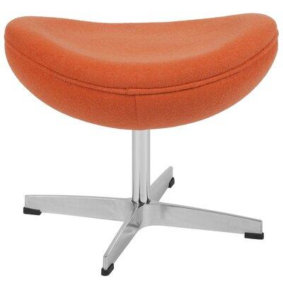 Welsh Ottoman Upholstery: Orange