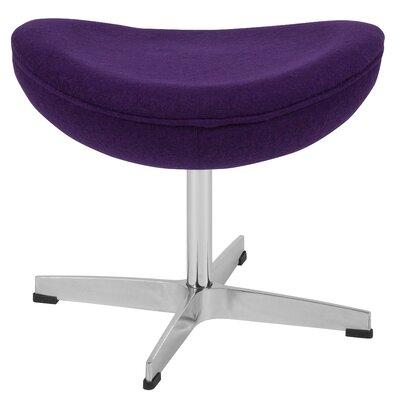 Welsh Ottoman Upholstery: Purple