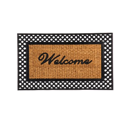 Honeycutt Welcome Doormat