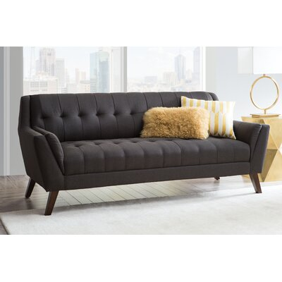 Schiller Standard Sofa Upholstery: Charcoal