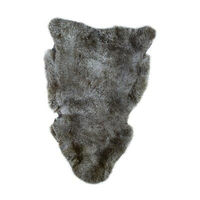 Oglesby Sheepskin Taupe Area Rug