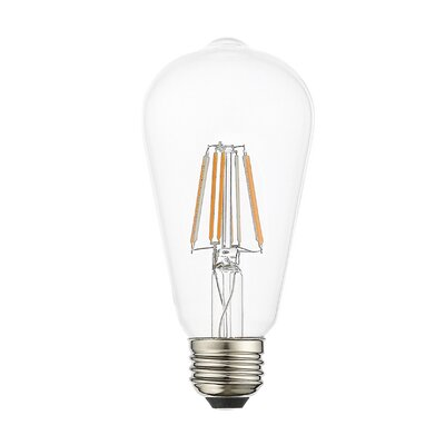 8W Equivalent E26 LED Specialty Edison Light Bulb (Set of 10)