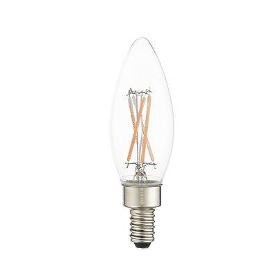 4W Equivalent E12 LED Candle Edison Light Bulb (Set of 10) Bulb Temperature: 3000 K
