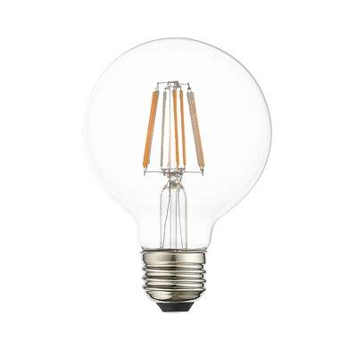 8W Equivalent E26 LED Globe Edison Light Bulb (Set of 10)