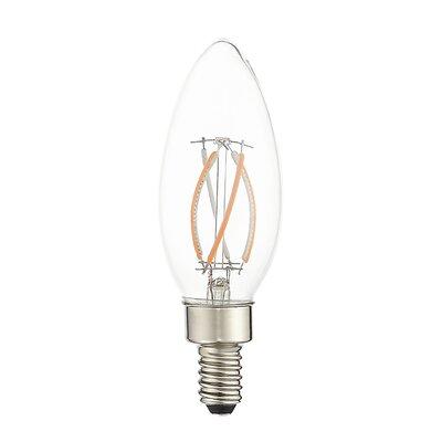 4W Equivalent E12 LED Candle Edison Light Bulb (Set of 10)