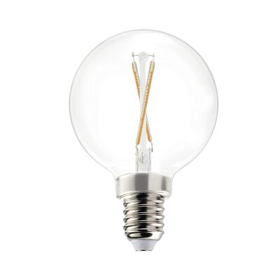 2W Equivalent E12 LED Globe Edison Light Bulb (Set of 10)