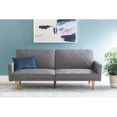 Heritage Convertible Sofa Upholstery: Grey