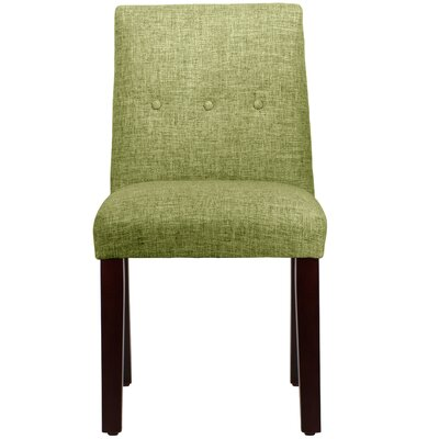 Cieslak Tapered Upholstered Dining Chair Color: Zuma Wasabi