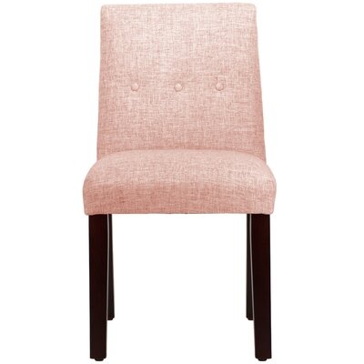 Cieslak Tapered Upholstered Dining Chair Color: Zuma Rosequartz