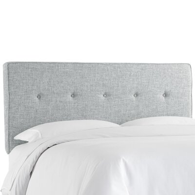 Deforest Tufted Upholstered Panel Headboard Size: Full, Color: Zuma Pumice