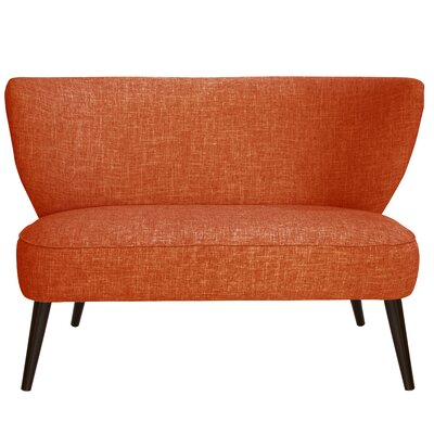 Cifuentes Armless Loveseat Color: Zuma Atomic