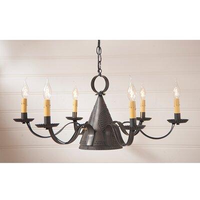 Venetian 6-Light Candle-Style Chandelier