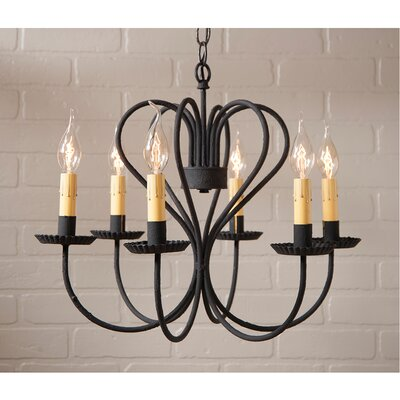 Wedgewood 6-Light Candle-Style Chandelier