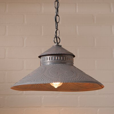 Wesleyan Reg Star 1-Light Mini Pendant
