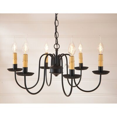 Weaver 6-Light Candle-Style Chandelier