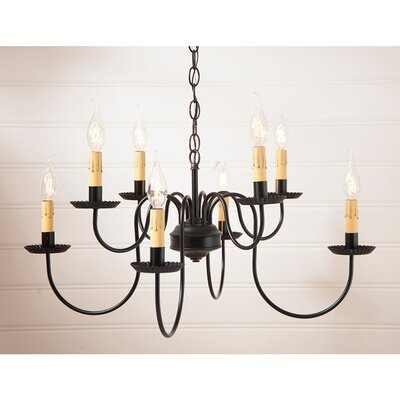 Weatherly 8-Light Candle-Style Chandelier
