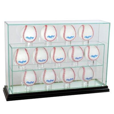 Thirteen Baseball Upright Display Case 13UPBSB-B