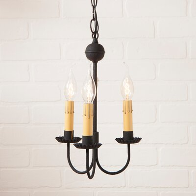 Weidman 3-Light Candle-Style Chandelier