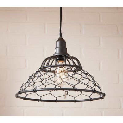Vittoria 1-Light Mini Pendant Finish: Smokey Black