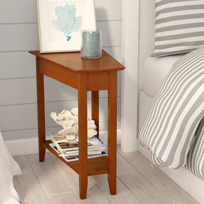 Randel Wedge End Table Color: Cherry