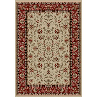 Egidio Classic Antique Red/Beige Area Rug