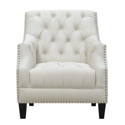 Hubbert Armchair Upholstery: Snow