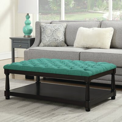 Karratha Coffee Table Table Top Color: Teal
