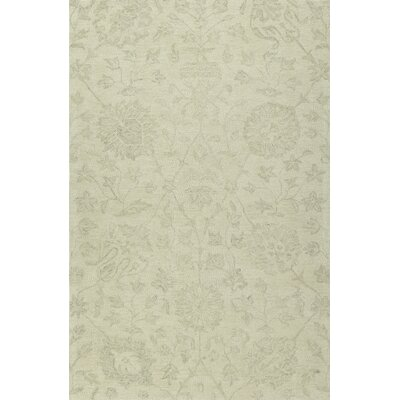 Chatmon Hand-Tufted Wool Ivory Area Rug Rug Size: Rectangle 36 x 56