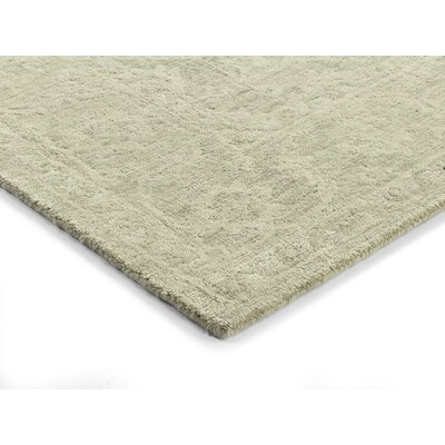 Chatmon Hand-Tufted Wool Linen Area Rug Rug Size: Rectangle 9 x 13
