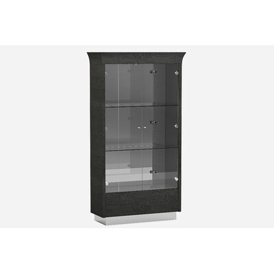 Sifuentes Lighted Curio Cabinet