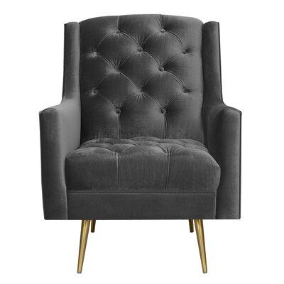 Hubbard Armchair Upholstery: Slate